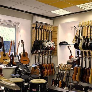 Музыкальные магазины Абинска